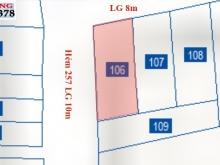 Bán đất đường Lê  Đình Cẩn Tân Bình 108m2 góc 2 Mặt tiền Ngộp Ngân hàng