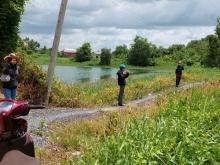 Bán đất tặng nhà,1000m2 mặt tiền 5m,Đất view hồ rất đẹp bán lỗ mùa dịch