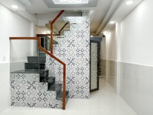 Nhà 1 lầu (27.4m2) hẻm 3m thông nhiều hướng, gần MT đường chính Hưng Phú P9 Q8