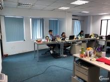 Cho thuê văn phòng mặt phố Trần Đại Nghĩa diện tích 80m2 giá 17tr/tháng vào làm