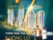 Căn hộ resort Lavita 2PN/ 73m2 giá 2,3 tỷ, thanh toán 30% nhận nhà, CK ưu đãi 9%