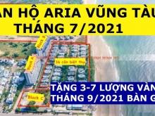 Aria Vũng Tàu  3PN-160m2, View Biển, Giá 5.6 tỷ đã thuế, Tặng 5 Lượng Sjc