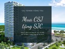 Bán Căn Hộ CSJ Tower Vũng Tàu View Biển Giá CĐT Trả Góp 12 Tháng. LH: 0942882192