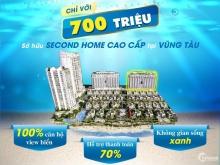 SỞ HỮU SECOND HOME CAO CÂP VIEW BIỂN VŨNG TÀU CHỈ TỪ 700 TRIỆU !!!