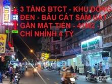 Bán nhà 3 tầng BTCT Đồng Đen Bàu Cát 41m2 giá mùa dịch chỉ nhỉnh 4tỷ