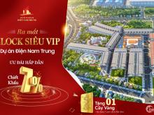 Mở bán dự án khu phố chợ sầm uất Điện Nam Trung