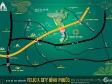 Đại đô thị sinh thái toàn diện đầu tiên tại Bình Phước giá 400tr/nền