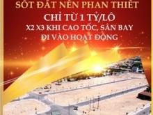 Đất nền 1 tỷ/lô sổ đỏ KĐT An Phước Phan Thiết vị trí gần cao tốc Dầu Giây.