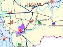 Bán Lô góc quốc lộ 37, sát khu Công nghiệp Yên sơn - Bắc Lũng