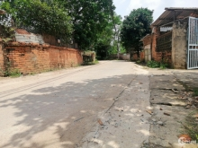Bán gấp đất nền trục chính đường liên xã Phú Cát - Quốc Oai