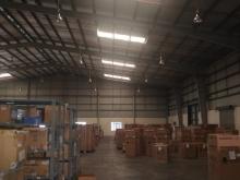 Cho thuê kho KCN Tiên Sơn, dt 1300m2, PCCC tự động. Giá chỉ 3.5$/m2 chưa VAT