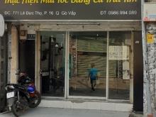 Cho thuê nhà mặt tiền 64m2 phường 16 quận Gò Vấp tphcm
