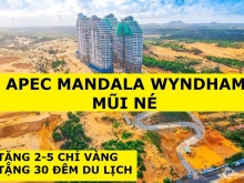 Chiếu khấu 27 Triệu,Apec Mũi Né Căn 1PN-32m2-View Biển, Tầng Cao, Giá 1.3 Tỷ