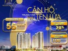 Căn hộ cao cấp Moonlight Centre Point - Bình Tân, đóng 1% tháng, giá 55 triệu/m2