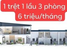 Bán nhà hoàn công Bàu Bàng 1trệt - 2Lầu+3 phòng trọ đang cho thuê