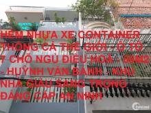 Bán nhà hẻm nhựa 8m Huỳnh Văn Bánh Phú Nhuận 50 m2 giá giảm còn 9.7 tỷ