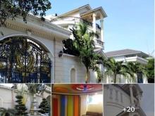 Cho thuê dài hạn Villa cao cấp 1500m2 khu biệt thự dự án Thế kỷ 21 quận 2