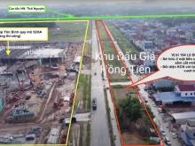 Bán Đất đấu giá Hồng Tiến-Thái Nguyên, Mặt ShopHouse Đẹp Nhất dự án