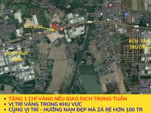 Đất nền quốc lộ 5 cẩm phúc cẩm giàng 105m2 hướng nam gần kcn phúc điền