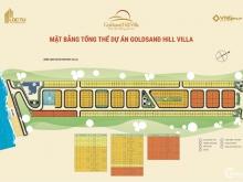 Đất nền biệt thự Goldsand Hill Villa view trọng ven Làng chài bán cắt lỗ