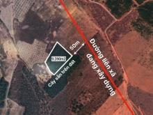 Sang nhượng lô đất vuông vức ngay sát liên huyện đã làm. Cách QL1A 1,5km.