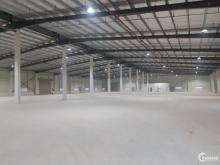 Cho thuê nhà xưởng giá tốt, diện tích 3200m2 KCN Đại Đồng – Hoàn Sơn