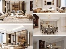 Bán căn hộ 154m2 tầng cao sang trọng Vinhome central Park Quận Bình Thạnh TP.HCM