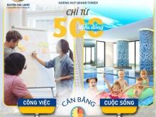 Chỉ với 500 triệu đồng sở hữu căn hộ Hoàng Huy Grand, giá cực tốt đầu tư