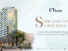 Bán căn hộ Studio hạng sang chuẩn Hotel - chỉ 1,4 tỷ/căn - CT Plaza Minh Châu Q3