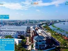 The Pearl Riverside - 1.43 tỷ SH nhà phố bên sông khu compound an ninh 24/7