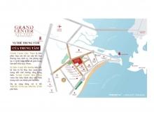 Dự án Grand Center Quy Nhơn. 4 mặt tiền đường ngay trung tâm thành phố Quy Nhơn.