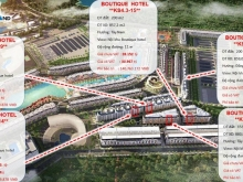 Bán toà KS 5* Boutique Hotel Phú Quốc, đẹp rẻ nhất thị trường.
