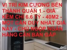 Bán nhà mới đẹp Lê Thị Riêng Bến Thành Quận 1 40m2 giá giảm còn 6.6 tỷ