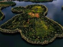 Đất vườn nghỉ dưỡng tiếp giáp hồ Cánh Bướm, trung tâm thị trấn Lộc Thắng,Bảo Lâm