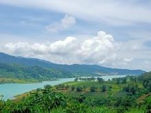 Đất vườn nghỉ dưỡng, tiếp giáp suối, view hồ Ngọc, đồi Trà, gần thác tự nhiên
