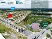 Lago Centro - Đất nền hạ tầng hoàn thiện , sổ đỏ trao tay chỉ 1.1 tỷ
