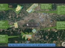 Hơn 10 dự án hiện có ở TP mới Đồng Xoài, chỉ có THE ECO-POINT 6tr/m2