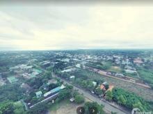 97m2 Đất đô thị, Trung tâm huyện, nở hậu, sổ riêng, đường ô tô, dân đông