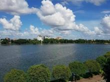 Bán đất mặt đường đôi Thanh Niên, view Hồ Bạch Đằng, TP HD, 64m2, mt 4m, siêu VI