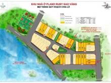 Bán 2 suất nội bộ LK1-18 và LK3-06 khu nhà ở PLand Ruby Sao Vàng