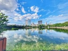 Bán nhà MP Hồ Đắc Di, Đống Đa, 90m2, lô góc 2mt 6*15m, view hồ, 25 tỷ