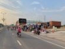 Bán lô đất mặt tiền đường nhựa 9m,cạnh trường học và gần cao tốc Mộc Bài-HCM