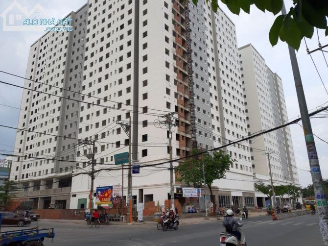 chung cư hóc môn sổ hồng riêng có ngân hàng hổ trợ cho vay diện tích 50m2 ,2 pn giá 320 tr