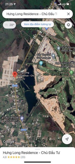 Cần bán nhanh 2 lô đất 200m2 kh sân gofl Tân Mỹ (WEST LAKES) ,giá sang nhanh siêu MỀM
