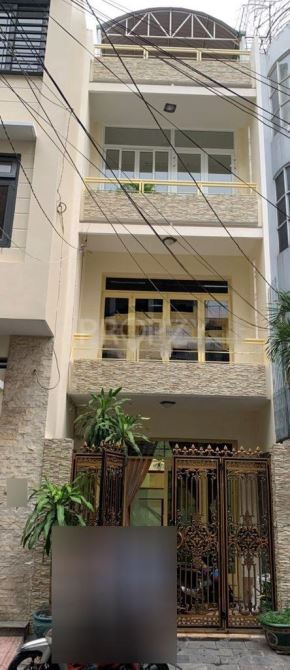 Cho thuê nhà hẻm 8m Lý Thường Kiệt q10 4x16m 3T 4 phòng lớn