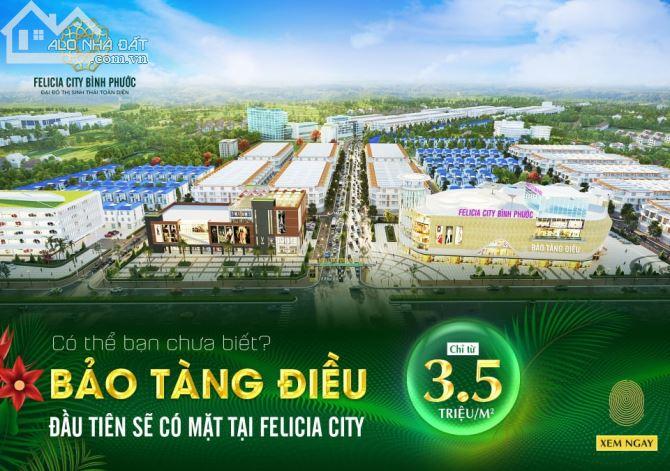 Hot hot hot!!! Mở bán khu vực mặt tiền đường 31m, Dt741 Felicia city