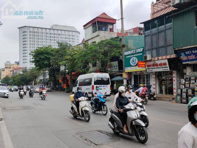 Mặt phố Trương Định, 60m2, 4 tầng, MT 4.1m, kinh doanh đa dạng, cực sấm uất, giá 9 tỷ