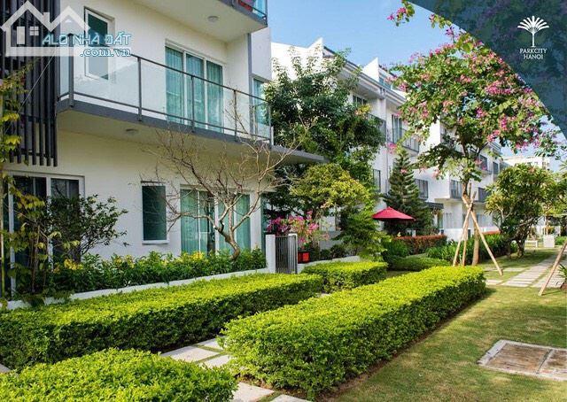 Cho thuê liền kề Park City Hà Đông, 120 m2 x 3  tầng, có nội thất, không gian sống xanh
