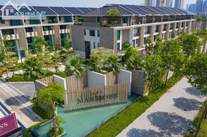 Cho thuê biệt thự liền kề The Mansions - Park City Hà Đông,154 m2 x 4 T, thang máy