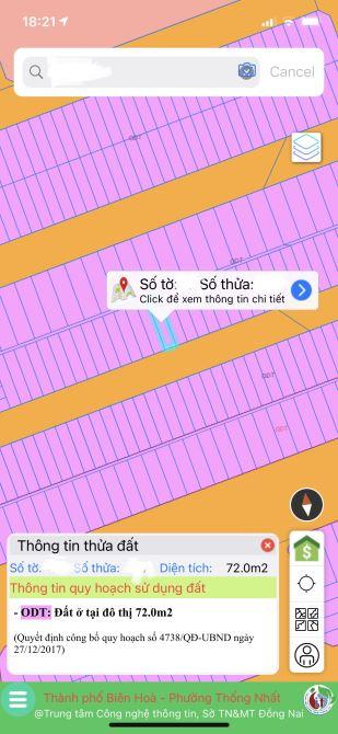 Bán nhà mặt tiền N12, khu Võ Thị Sáu, Thống Nhất, Biên Hoà